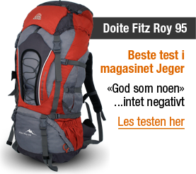 Doite Fitz Roy 95 - Best test i Jeger
